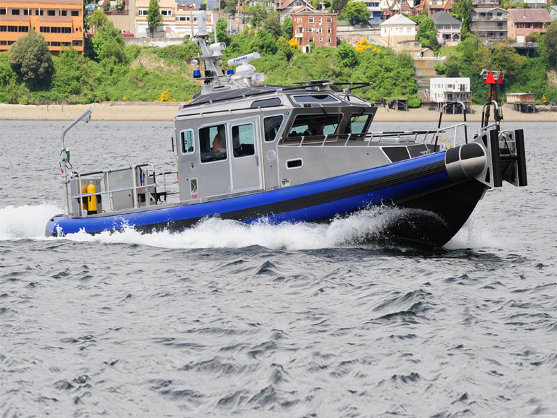 Police Boat powered by Scania
