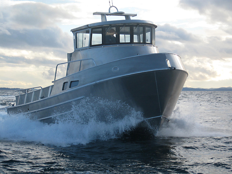 Bristol Bay Gillnetter powered by Scania