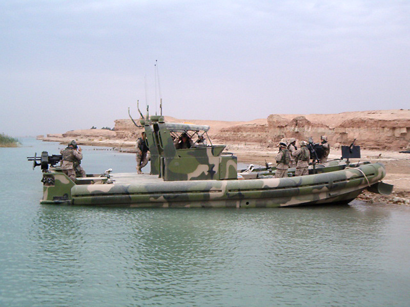 Riverine Patrol Boat powered by Yanmar