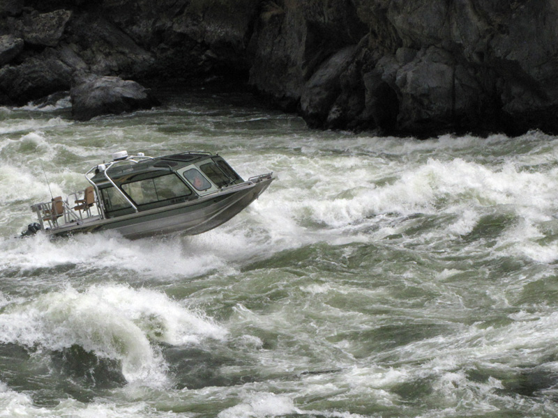 River Jet Boat powered by Yanmar