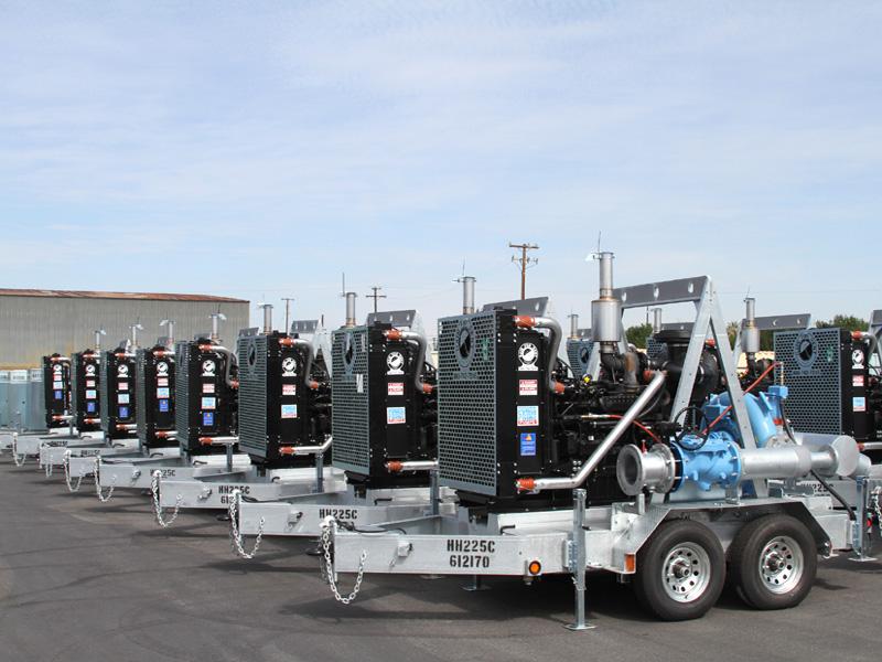 Portable Water Pumps powered by John Deere