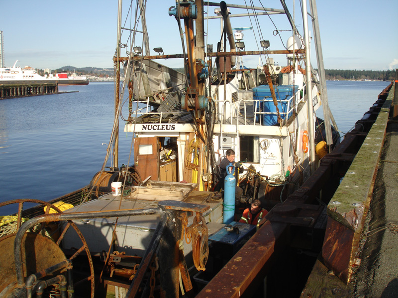 Commercial Fishing Vessel powered by Scania