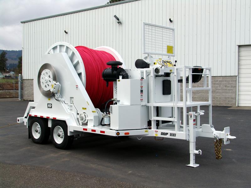 Line Puller powered by John Deere