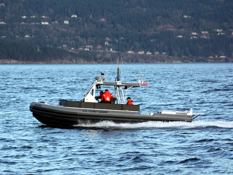 Transportable Port Security Boat powered by Yanmar