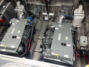 Twin 8LV350 Engines