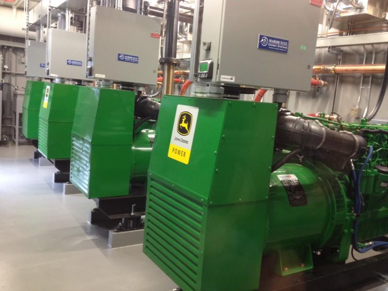 Alaskan Village Power Module powered by John Deere