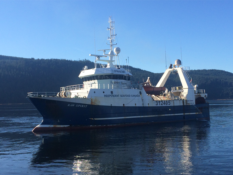 Factory Trawler powered by Scania