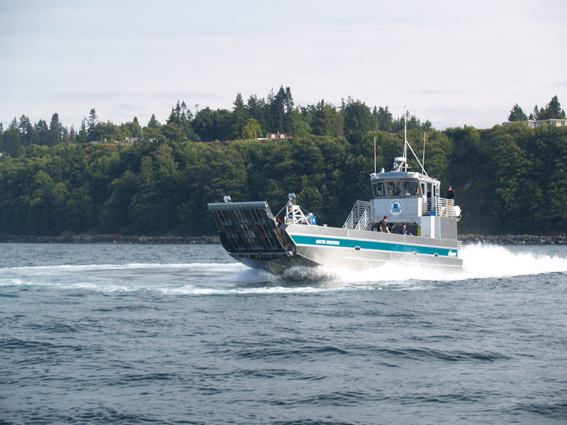 Landing Craft powered by Scania